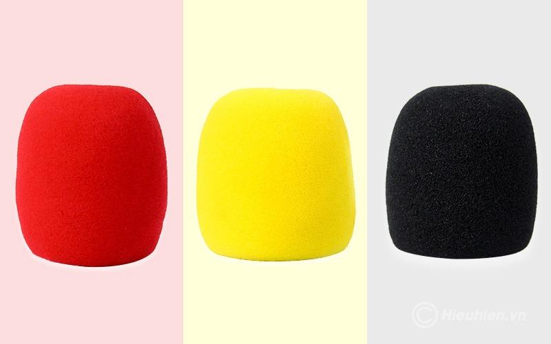 Bông mút bọc đầu Micro - 3 màu