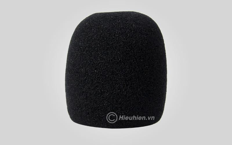 Bông mút bọc đầu Micro - màu đen