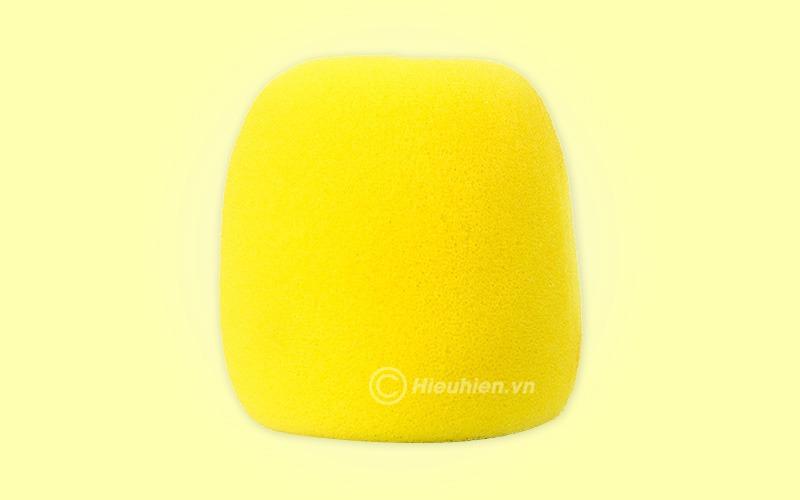 Bông mút bọc đầu Micro - màu vàng