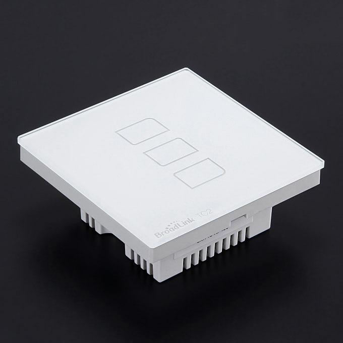 broadlink tc2 - công tắc 3 phím cảm ứng điều khiển từ xa