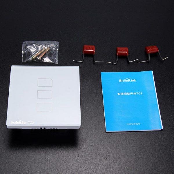 broadlink tc2 - công tắc 3 phím cảm ứng điều khiển từ xa - hình 07