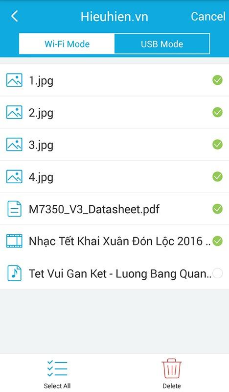 huong dan dung ung dung tpmifi app truy cap vao the nho micro sd trong tp-link m7350 qua wifi 10