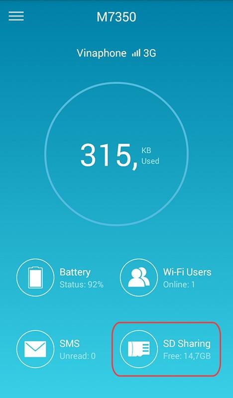 huong dan dung ung dung tpmifi app truy cap vao the nho micro sd trong tp-link m7350 qua wifi 06