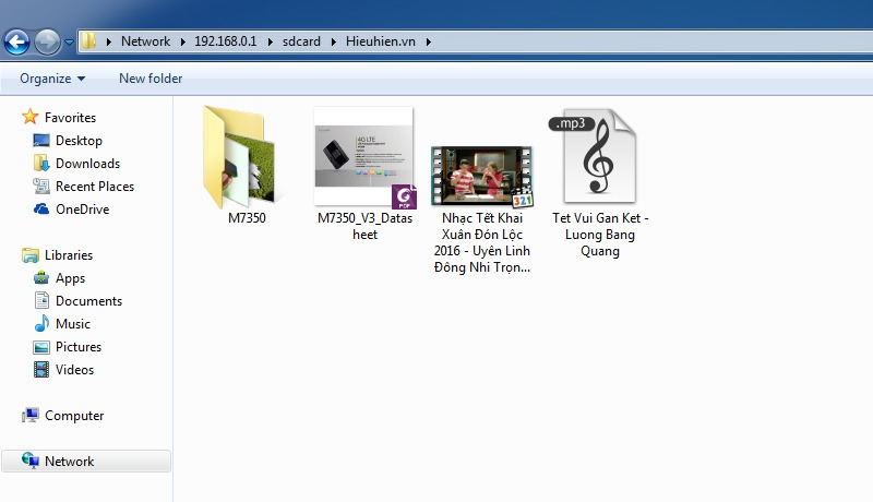 cach truy cap vao the nho micro sd trong tp-link m7350 qua wifi 06