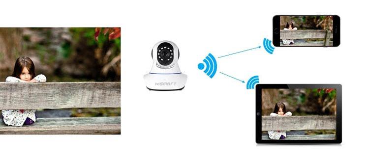 camera ip wifi hismart pro 09 hd 12