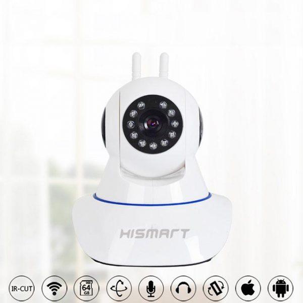 camera ip hismart pro 09 hd giám sát và báo động chống trộm