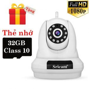camera ip sricam sp018 full hd 1080p tặng thẻ nhớ