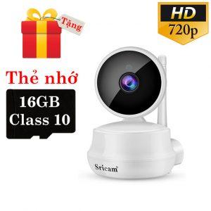 sricam sp025 hd 720p - camera ip quan sát, giám sát cho gia đình