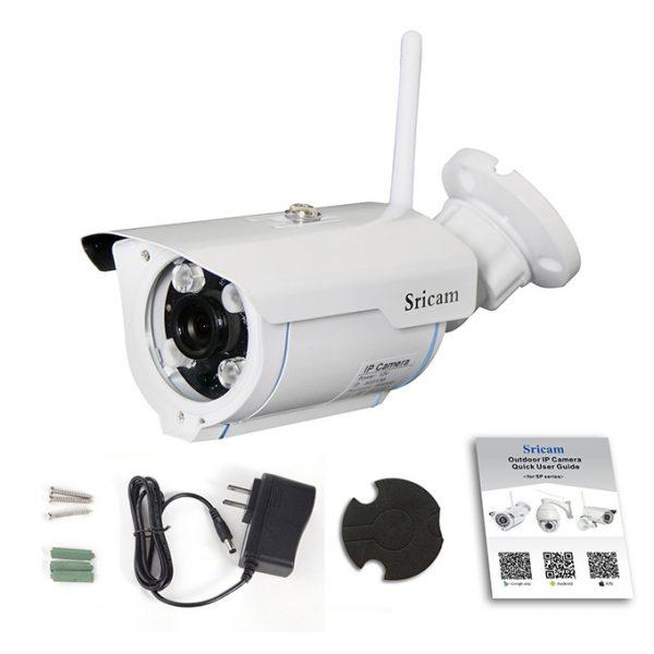 sricam sp007 - camera ip wifi ngoài trời, hỗ trợ thẻ nhớ 128gb chính hãng - hình 05
