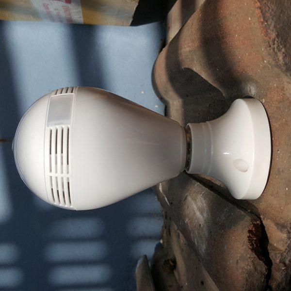 camera ip wifi ngụy trang bóng đèn, góc siêu rộng 1.3mpx - hd 960p - hình 03