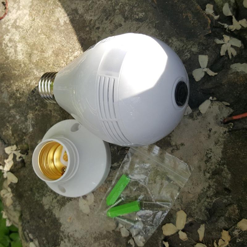 camera ip wifi ngụy trang bóng đèn, góc siêu rộng 1.3mpx - hd 960p - hình 04