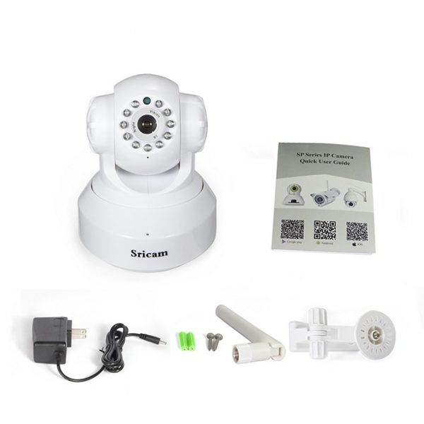 camera ip wifi sricam sp005 giám sát, quan sát không dây giá rẻ chất lượng hd - hình 11