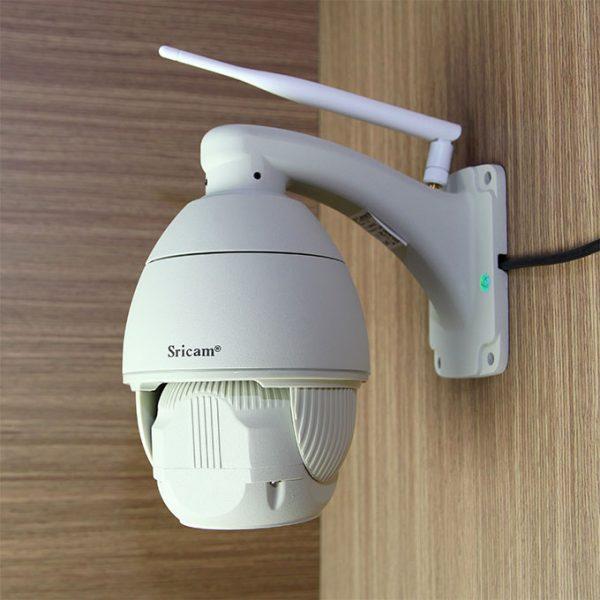 sricam sp008 camera ip wifi thông minh giám sát ngoài trời