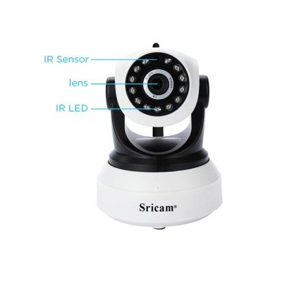 sricam sp017 - camera ip wifi thông minh, hỗ trợ thẻ nhớ 128gb - hình 02