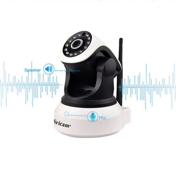 sricam sp017 - camera ip wifi thông minh, hỗ trợ thẻ nhớ 128gb - hình 04