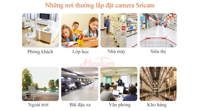 camera ip sricam sp018 full hd 1080p tặng thẻ nhớ - không gian