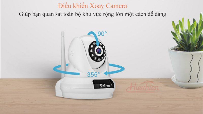 camera ip sricam sp018 full hd 1080p tặng thẻ nhớ - xoay