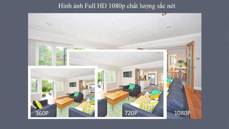 camera ip sricam sp018 full hd 1080p tặng thẻ nhớ - độ phân giải cao