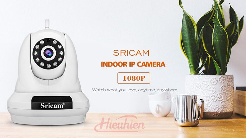 camera ip sricam sp018 full hd 1080p tặng thẻ nhớ - mặt trước