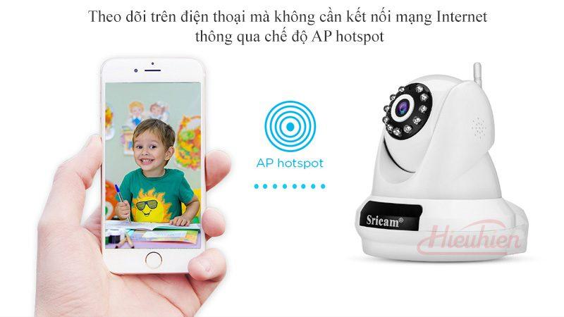 camera ip sricam sp018 full hd 1080p tặng thẻ nhớ - wifi
