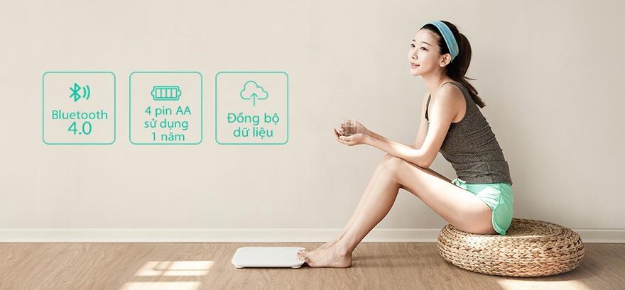 can xiaomi mi smart scale: can dien tu thong minh theo doi suc khoe 03