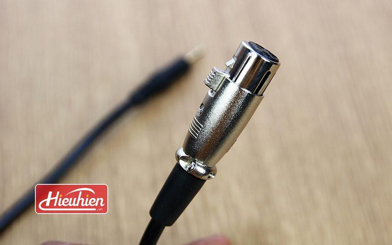 Cáp 3.5mm Jack Plug to XLR Female - Cáp kết Nối Micro Thu Âm - xlr