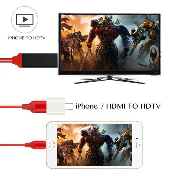 cáp lightning ddo loại tốt - kết nối iphone, ipad với tivi, máy chiếu - hình 04