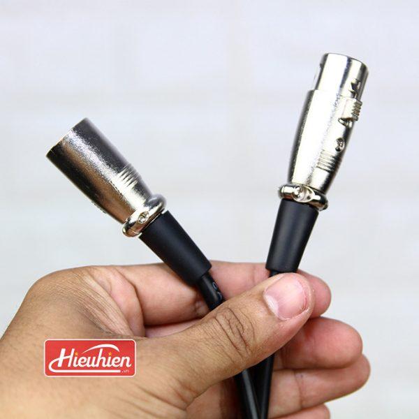 Cáp XLR to XLR - Cáp kết Nối Micro Thu Âm 01