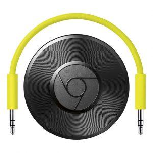 google chromecast audio - truyền nhạc trực tuyến - chromecast cho loa