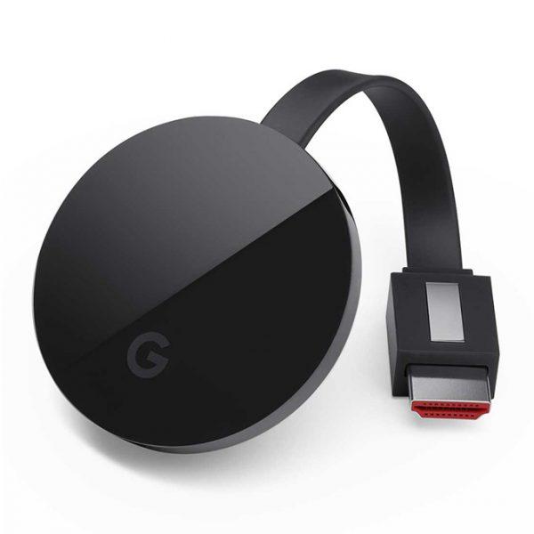 google chromecast ultra - thiết bị truyền trực tuyến 4k hdr