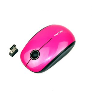 chuột không dây forter v189 cho android tv box, smart tv - màu hồng