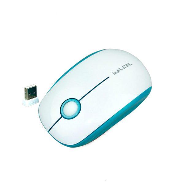 chuột không dây forter v189 cho android tv box, smart tv - màu trắng xanh