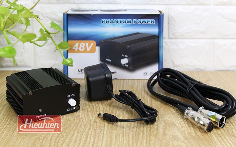 combo mic takstar pc k200 và sound card xox k10x 2018 - nguồn 48v