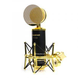 Combo Micro Takstar PC-K820 + Sound Card V9 - Thu âm hát live stream, karaoke chuyên nghiệp 0