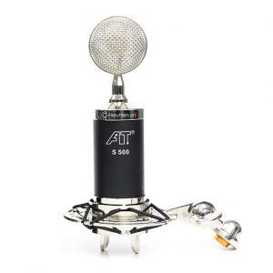 combo micro isk at s500 + sound card v8 - thu âm hát live stream, karaoke giá rẻ - micro