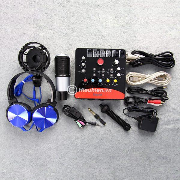 Combo Micro Takstar PC-K320 + ICON Upod Pro Sound Card - Bộ thu âm hát live chuyên nghiệp 01