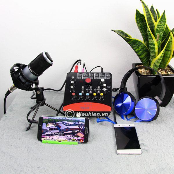 Combo Micro Takstar PC-K320 + ICON Upod Pro Sound Card - Bộ thu âm hát live chuyên nghiệp 02