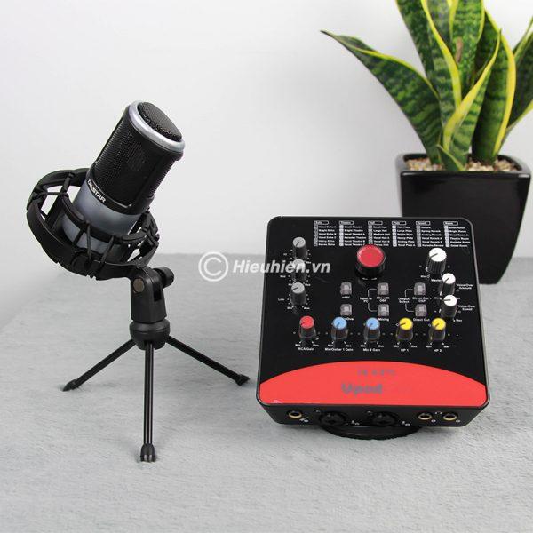 Combo Micro Takstar PC-K320 + ICON Upod Pro Sound Card - Bộ thu âm hát live chuyên nghiệp 04