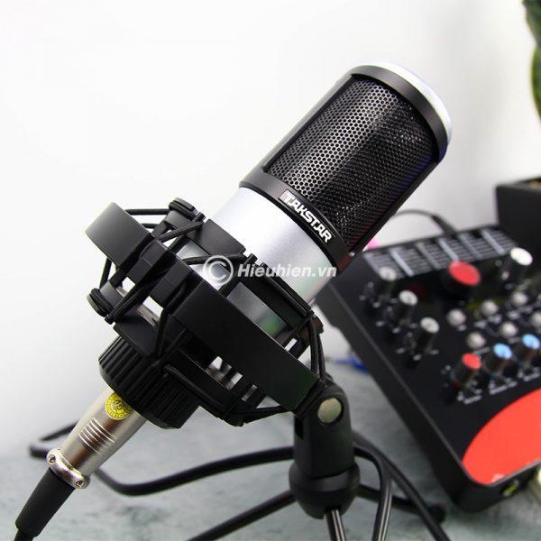 Combo Micro Takstar PC-K320 + ICON Upod Pro Sound Card - Bộ thu âm hát live chuyên nghiệp 05