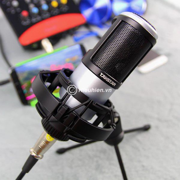 Combo Micro Takstar PC-K320 + ICON Upod Pro Sound Card - Bộ thu âm hát live chuyên nghiệp 07