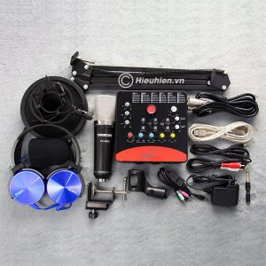 Combo Micro Takstar PC-K600 + ICON Upod Pro Sound Card - Bộ thu âm hát live chuyên nghiệp 01