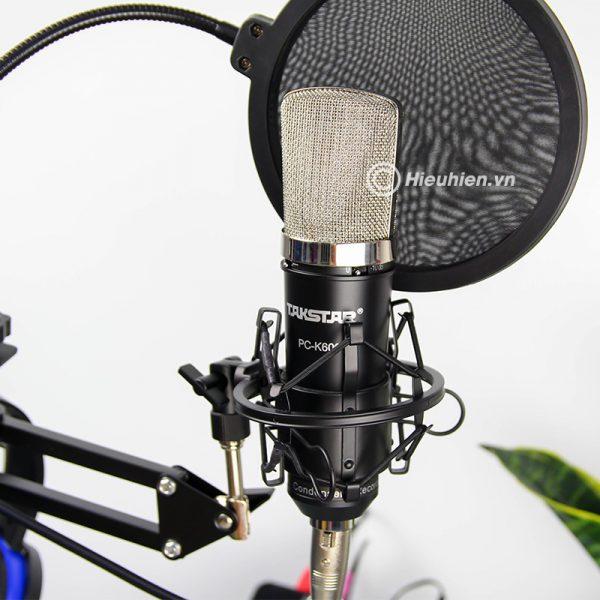 Combo Micro Takstar PC-K600 + ICON Upod Pro Sound Card - Bộ thu âm hát live chuyên nghiệp 03