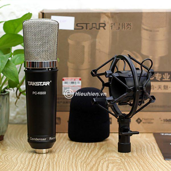 Combo Micro Takstar PC-K600 + ICON Upod Pro Sound Card - Bộ thu âm hát live chuyên nghiệp 05