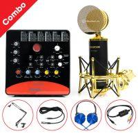 Combo Micro Takstar PC-K820 + ICON Upod Pro Sound Card - Thu âm hát live stream, karaoke chuyên nghiệp