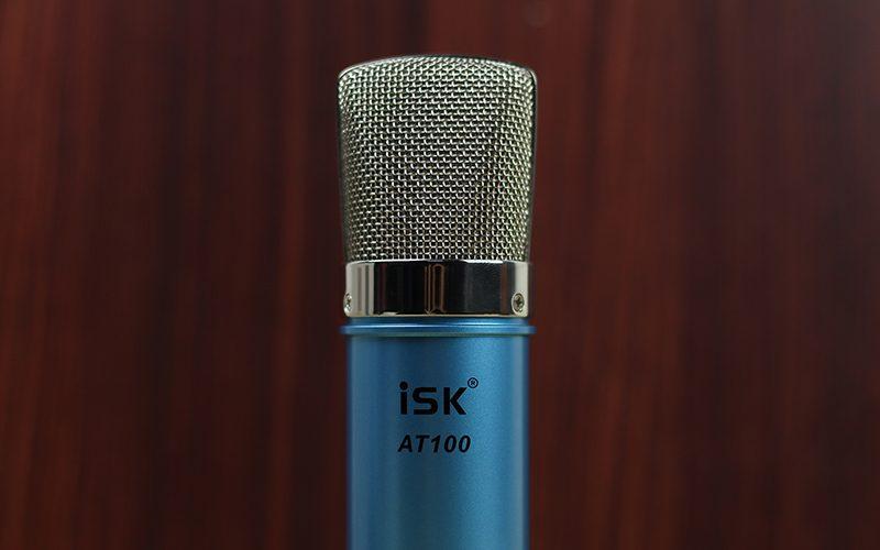 combo sound card xox k10 và micro isk at100 - logo
