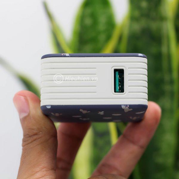 củ sạc nhanh space adapter vip12 qc3.0, hỗ trợ quick charge 3.0 - hình 05