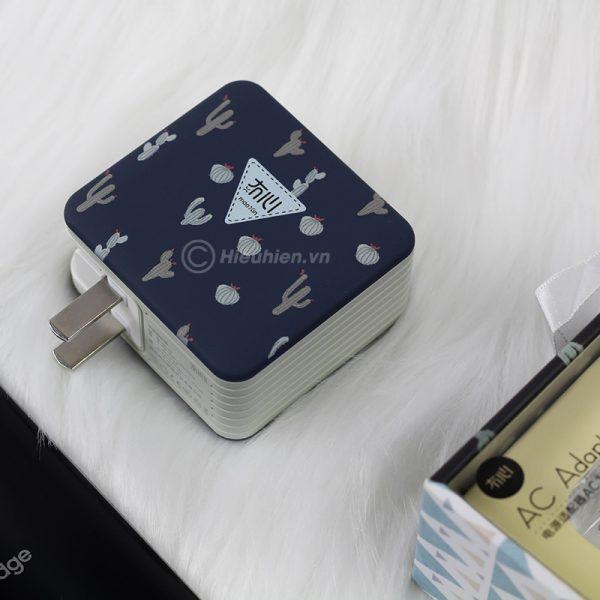 củ sạc nhanh space adapter vip12 qc3.0, hỗ trợ quick charge 3.0 - hình 09