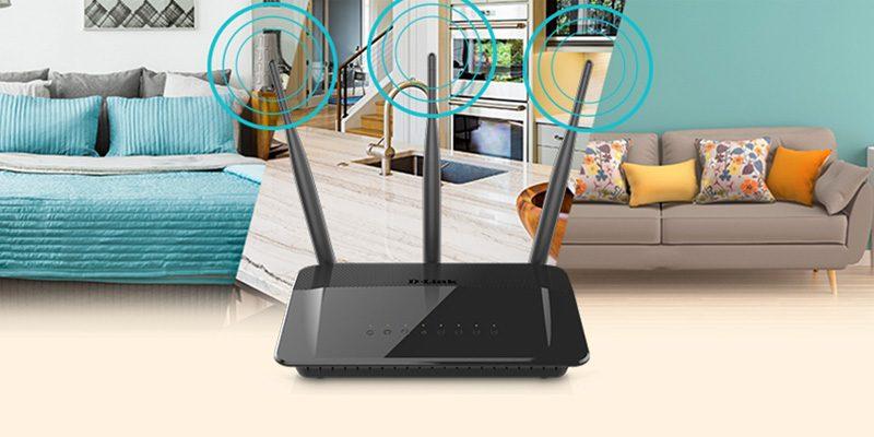 d-link dir-809 - router wifi 2 băng tần không dây ac750 chính hãng, giá tốt - hình 01