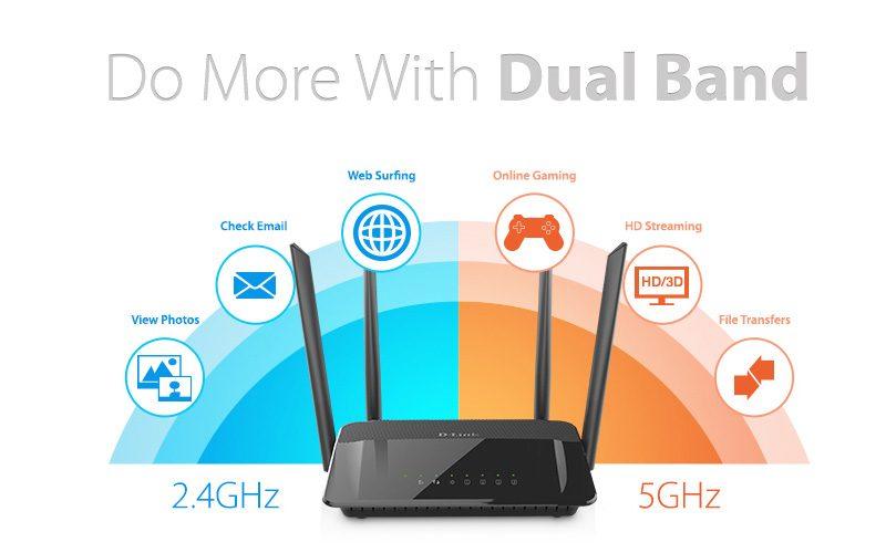 d-link dir-822 - router wifi băng tần kép không dây ac1200 chính hãng, giá tốt - hình 02