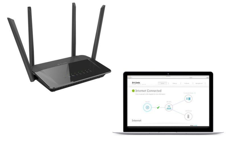 d-link dir-822 - router wifi băng tần kép không dây ac1200 chính hãng, giá tốt - hình 05